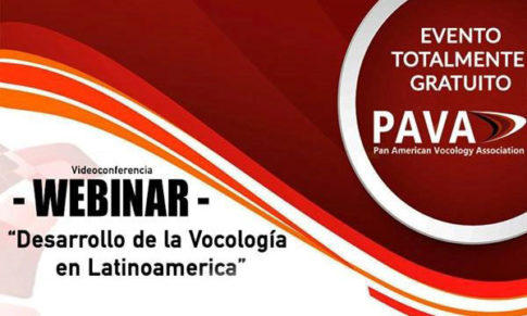 Desarrollo de la Vocología en Latinoamérica – Webinar PAVA